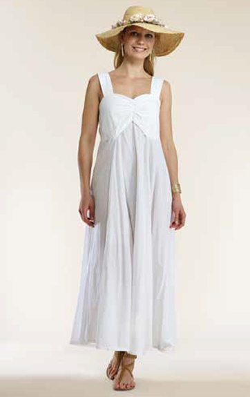 Luna Luz Garment Dyed Empire Dress