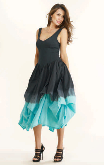 Luna Luz Ombre Garment Dyed Sundress