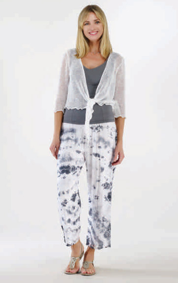 Luna Luz Tied Dyed Silk Pant