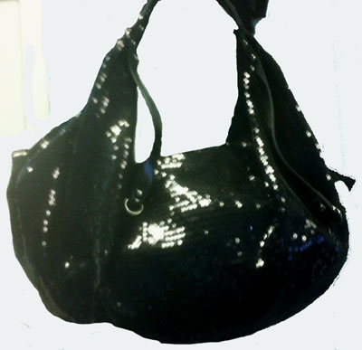 Sophisticated Style Sequined Hobo