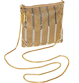 Whiting and Davis Stripes Dance Bag
