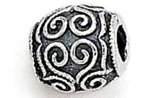 Zable Filigree Bead