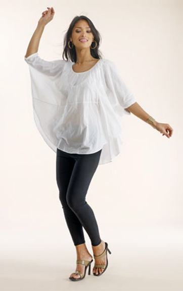 Luna Luz Garment Dyed Poncho Top and Leggings